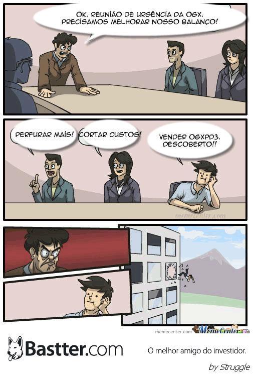 Reunião na sede da OGX