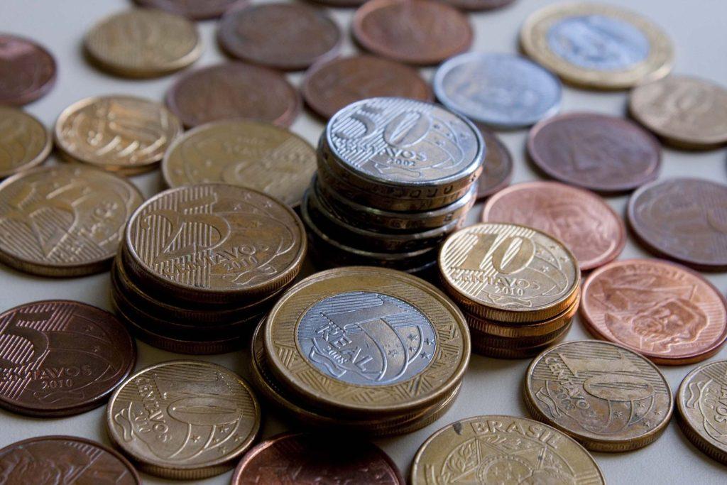 moedas de real