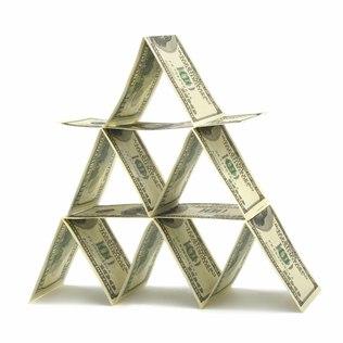 O que caracteriza uma pirâmide financeira