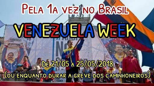 A Venezuela é aqui!